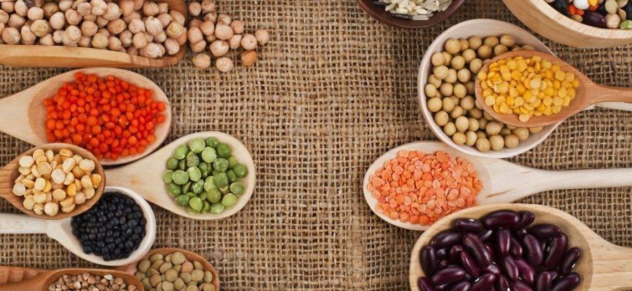 Список продуктов – основных источников растительного белка