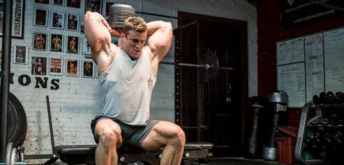 Тренировка всего трицепса за 1 тренировку