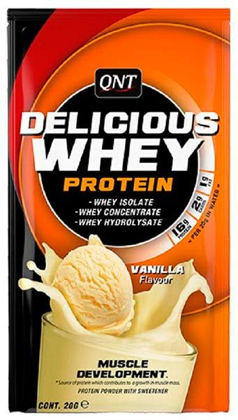 Delicious Whey Protein, 20г