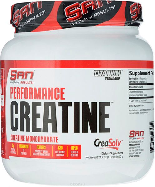 Performance Creatine, 600 г